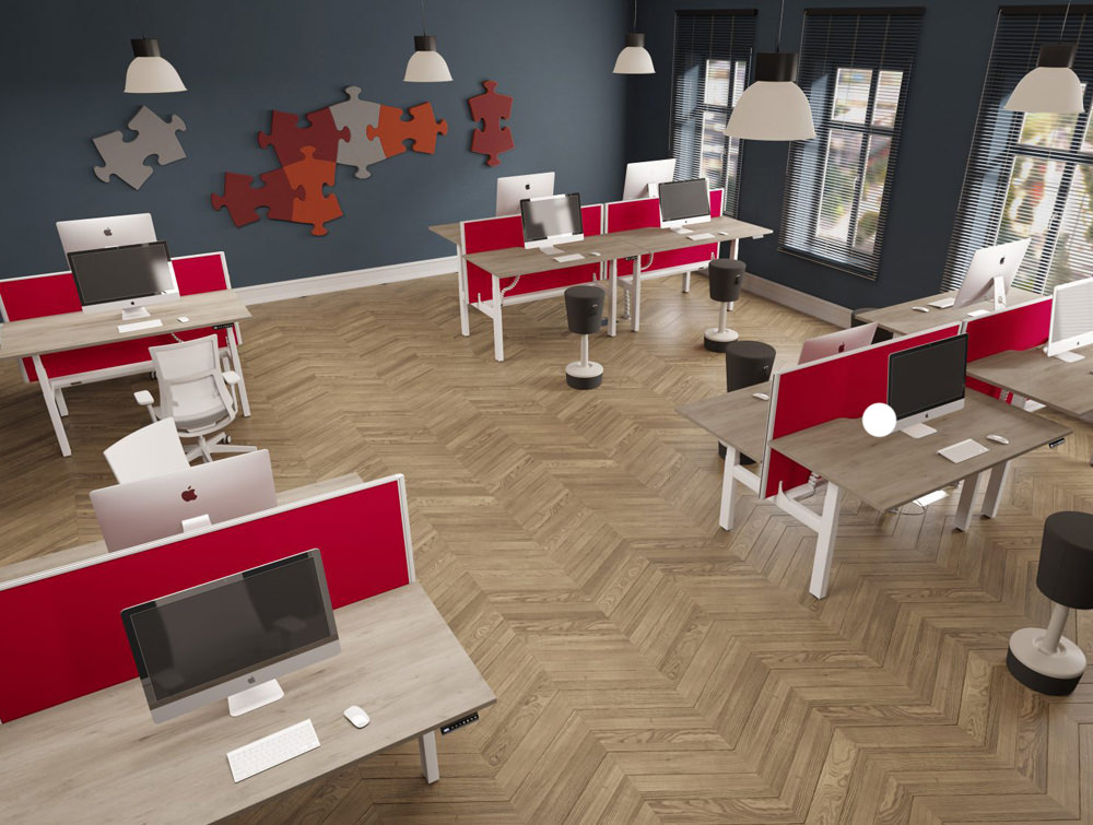 Leap-Electric-Sit-Stand-Bench-Desks-in-Office-Interiors