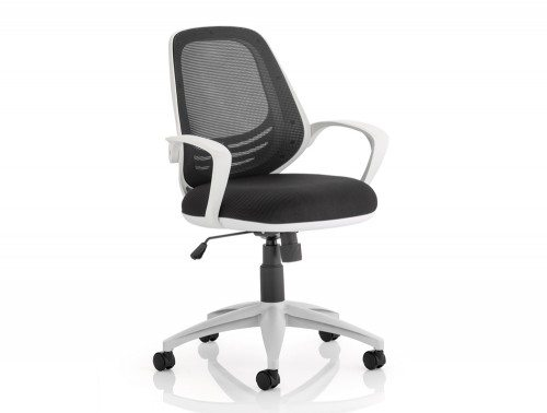 Atom Task Operator Chair Black With Arms Featured Image