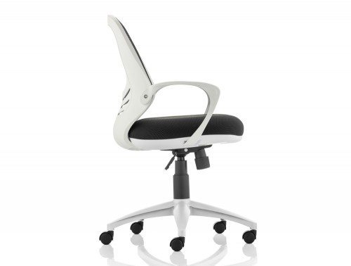 Atom Task Operator Chair Black With Arms Image 3