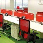 Bachmann Desk 1 in an office environment
