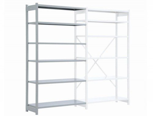 Bisley Metal Shelving Extension Bay
