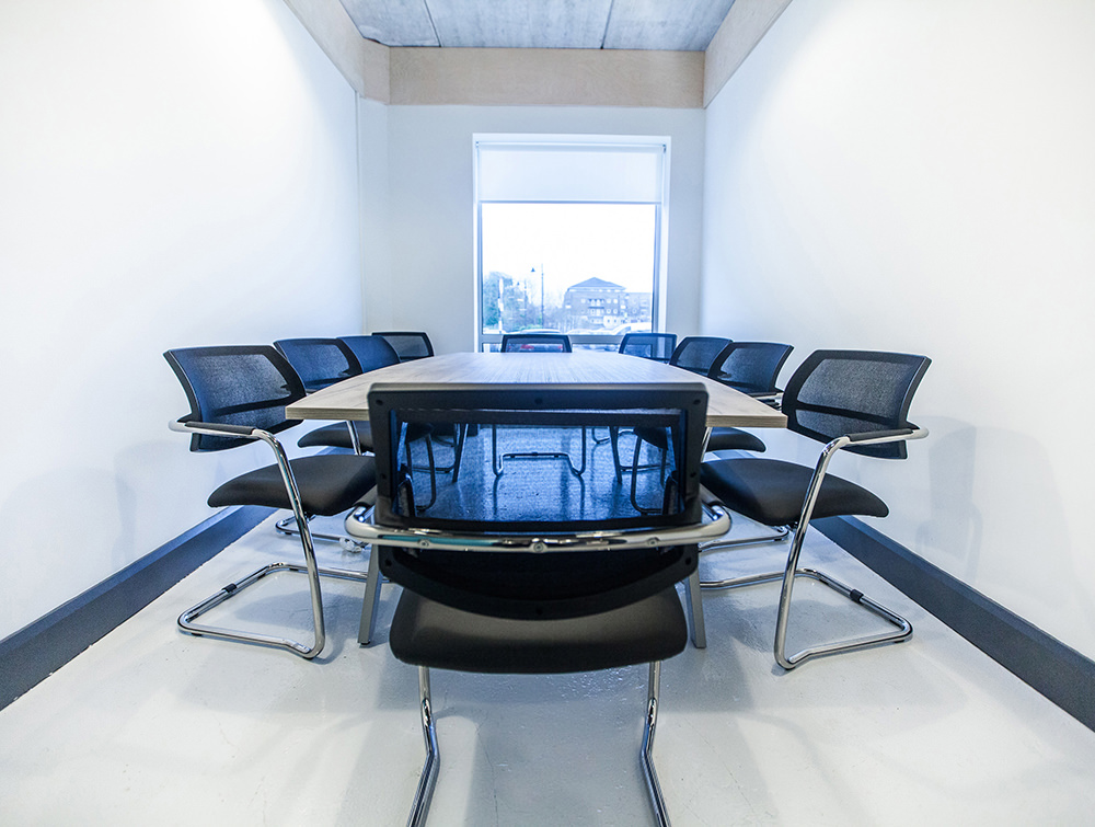 Conference Room, white room