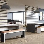 Contemporary Office Breakout Seating with Cushions
