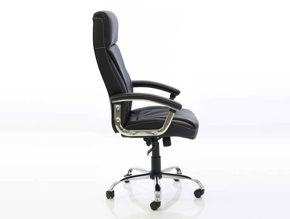 dynamo penza budget executive black leather chair