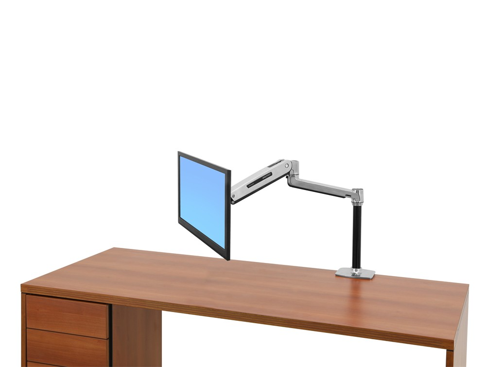 dual ergo sr products desk most stand workfit mount sit monitor ergotron desktop