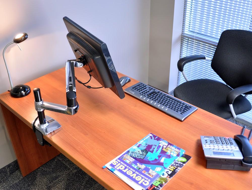 Ergotron Lx Tall Pole Desk Mount Lcd Monitor Arm