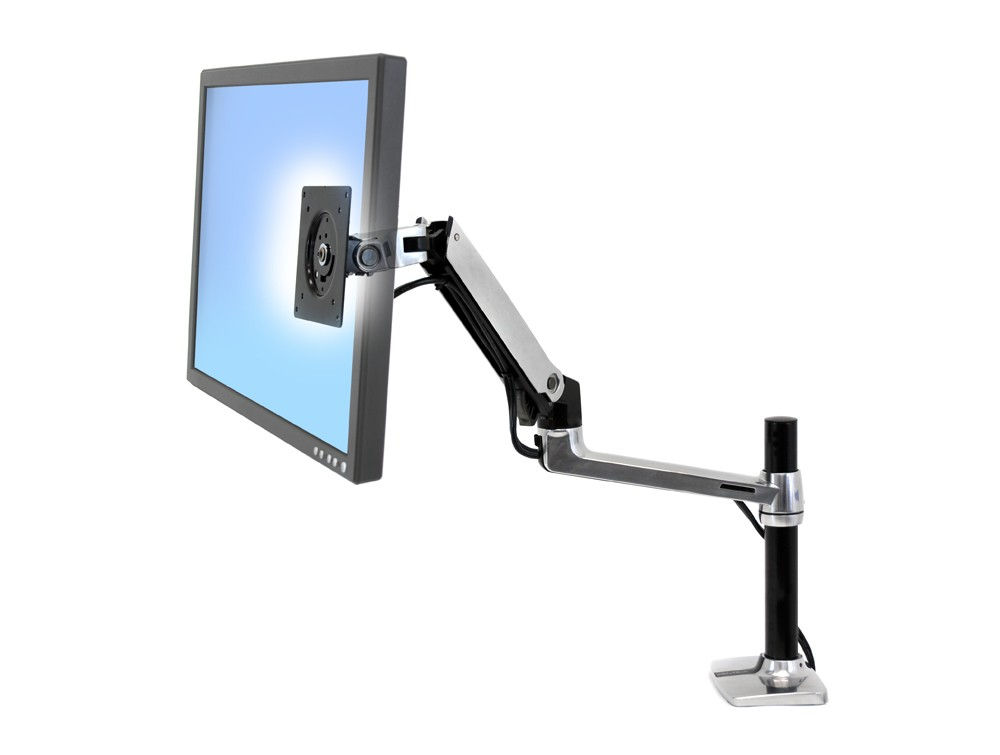 Ergotron Lx Tall Pole Desk Mount Lcd Monitor Arm