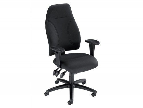 Influx Posture High Back Asynchronous Armchair Seat