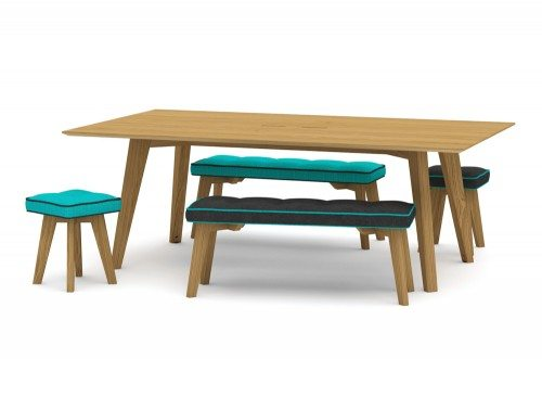 Jig Social Canteen Table and Benches