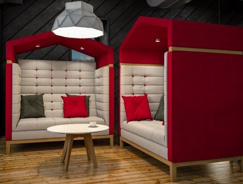 Jig Arbour 2 Seater Meeting Pod Range
