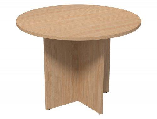 ... Kito Meeting Round Meeting Table Panel Leg Base Be 1000