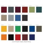 Kleiber Office Seating Fabrics Group 1 Fiji and Zeta