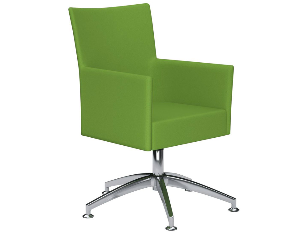 kleiber time series self centering meeting chair in green. Black Bedroom Furniture Sets. Home Design Ideas