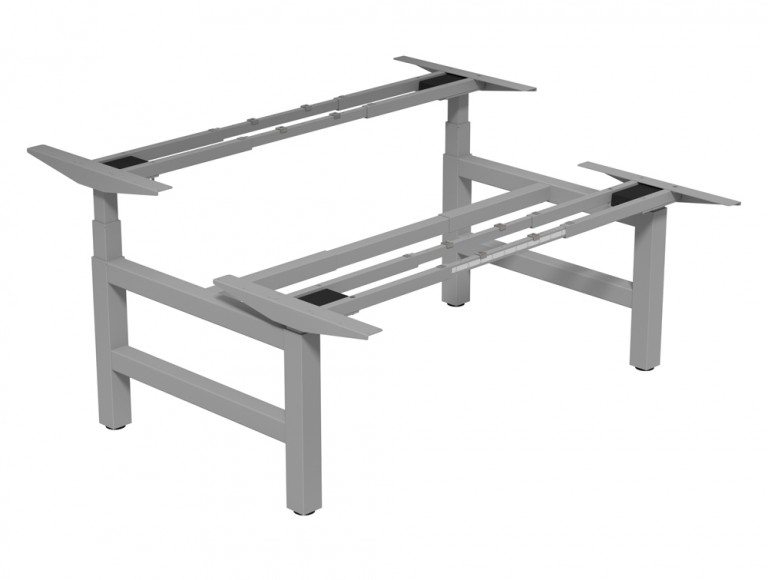 Leap Adjustable Steelforce Pro 470 SLS Bench Frame SLV-1 in Silver