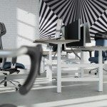 Leap Bench Desk with Profim Action Chair