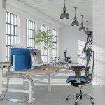 Leap Electric Desk Pod in Office