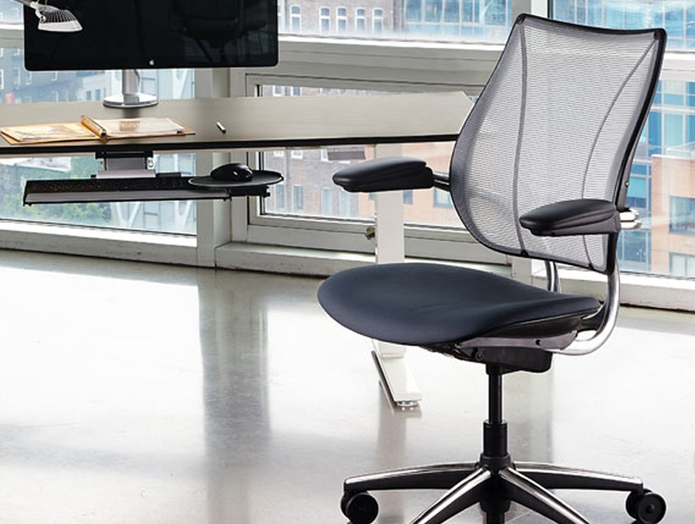 Used Humanscale Liberty Mesh Ergonomic Chair Radius