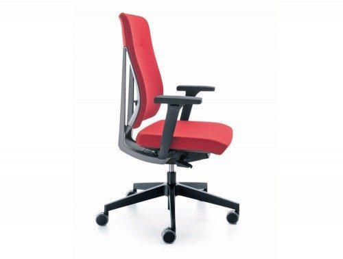 O xenon ergonomic office chair side angle