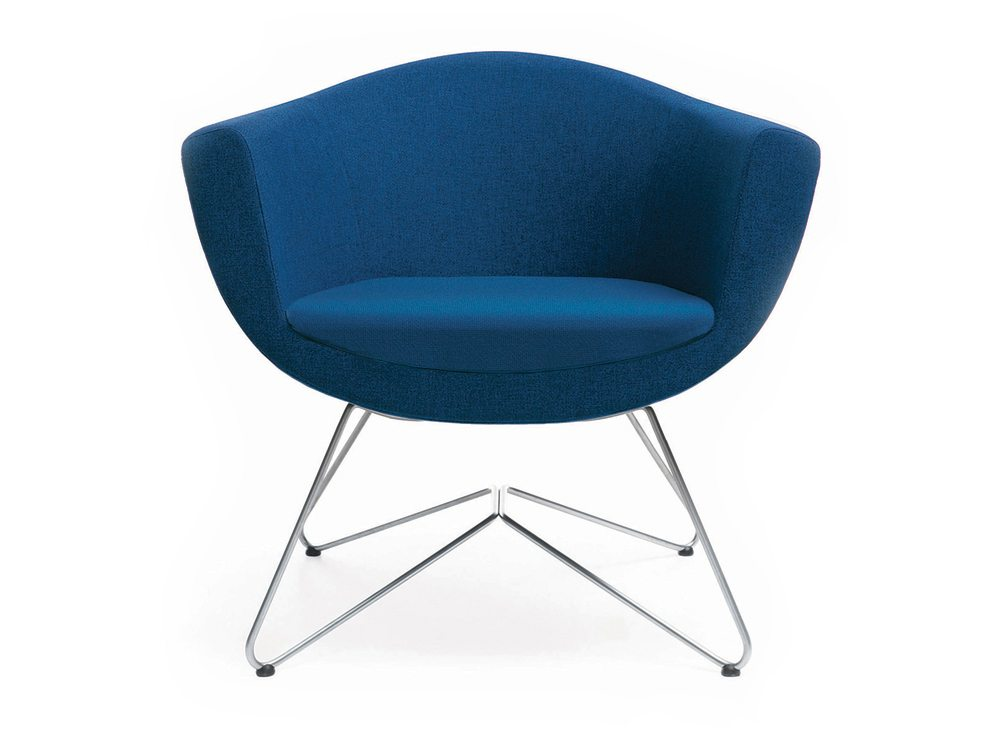 Profim Sorriso Wireframe Conference Armchair