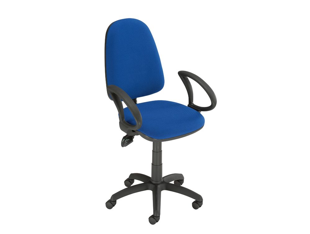 ... Trexus Office Operator Chair Asynchronous High Back With Armrest ...