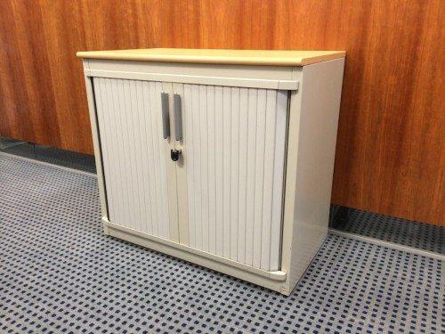 Steelcase Tambour Door Storage Unit Small