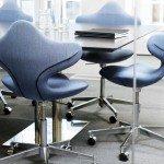 Varier Active Office Ergonomic Chair in blue