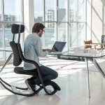 Varier Gravity Balans Zero Gravity Chair with a user