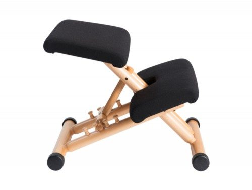 Varier Multi Balans Kneeling Chair in Beech Side Angle