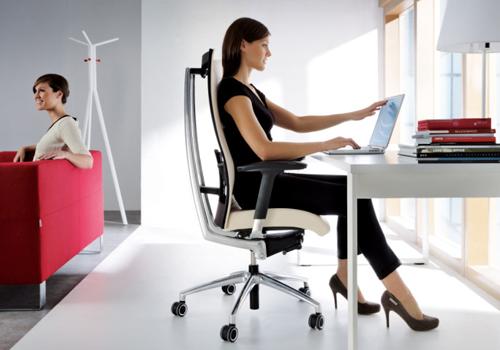 Dual Monitor Desk Mount in Silver