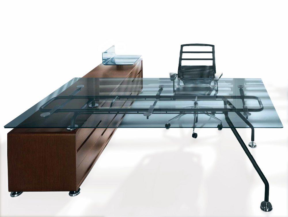 balma xeon executive glass office desk radius office uk. Black Bedroom Furniture Sets. Home Design Ideas